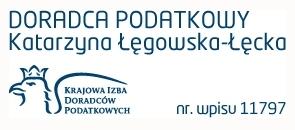 Kancelaria Doradcy Podatkowego Katarzyna Łęgowska-Łęcka Logo
